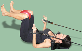 Pilates is a total body workout and provides great fitness results